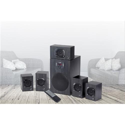 Speaker GENIUS SW-HF5.1 4500 II, 125W 31730015400