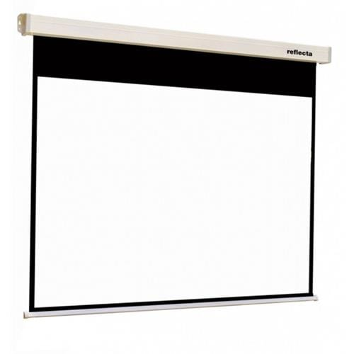 87732-Reflecta plátno, Crystal-Line Rollo 220x174 cm, (viewing area 216x162), SoftLift Retraction, 4 black border