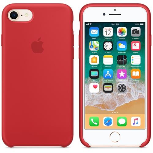Apple iPhone 8 / 7 Silicone Case - (PRODUCT)RED MQGP2ZM/A