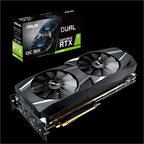 VGA ASUS DUAL GeForce RTX RTX2080 OC Edition 8GB DDR6 - EVO 90YV0CL0-M0NM00