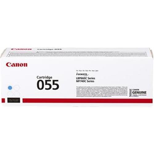 toner CANON CRG-055 cyan i-SENSYNS LBP663Cdw, MF742Cdw (2.100 str.) 3015C002