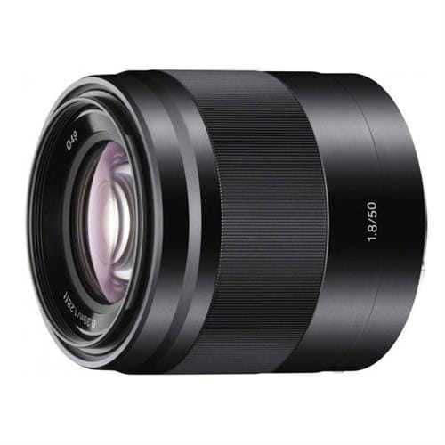 Sony objektív SEL-50F18B,50mm,F1,8,čierny pre NEX SEL50F18B.AE