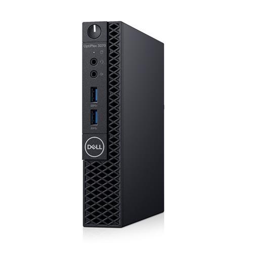 Dell PC Optiplex MFF 3070 Micro i3-9100T/4GB/128GB SSD M2/WiFi/65W/W10P/3RNBD 3070-5544