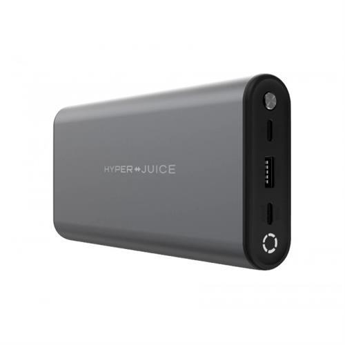 HyperJuice 130W duálna USB-C powerbanka, Space Gray HY-HJ307-GRAY