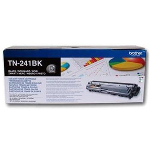 Toner BROTHER TN-241 Black HL-3140CW/3150CDW/3170CDW, DCP-9020CDW, MFC-9140CDN TN241BK