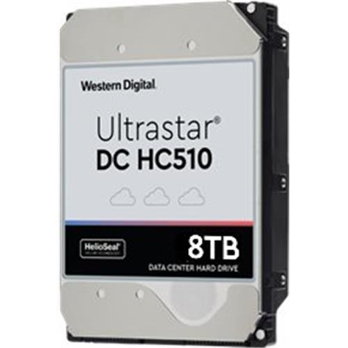"""Western Digital Ultrastar DC HC510 / He10 3,5"""" HDD 8TB 7200rpm SATA 6Gb/s 256MB HUH721008ALN604"""