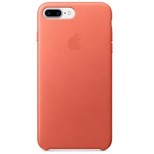 Apple iPhone 7 Plus Leather Case - Geranium MQ5H2ZM/A