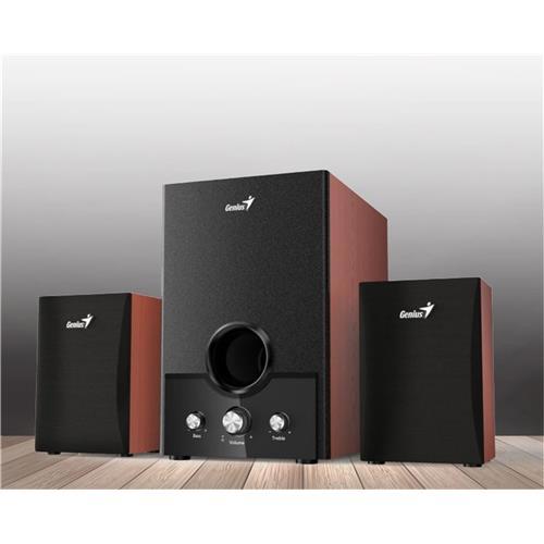 Speaker GENIUS SW-HF2.1 1700 II 45W wood 31730013400