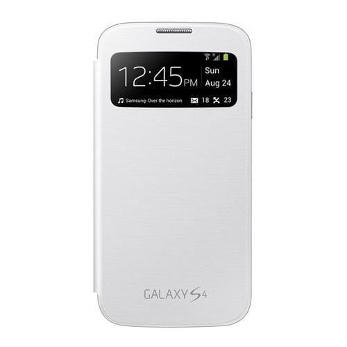 Samsung flipové puzdro S-view EF-CI950BW pre Galaxy S IV (i9505), biele EF-CI950BWEGWW
