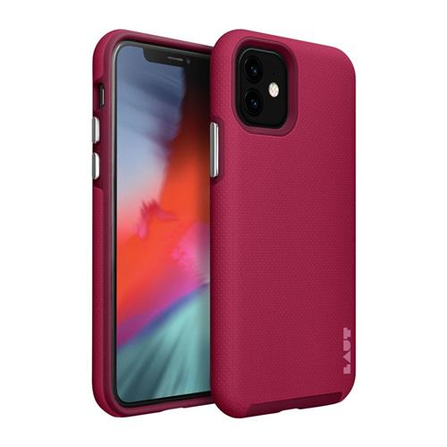 LAUT Shield – Case for iPhone 11, Cherry LAUT-IP19M-SH-CH