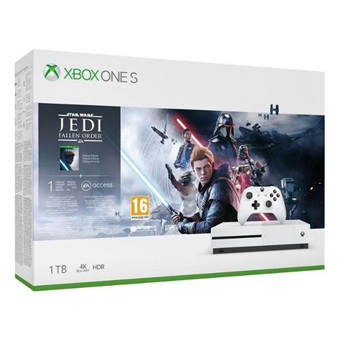 XBOX ONE S 1 TB + Star Wars: Fallen Jedi Order 234-01098