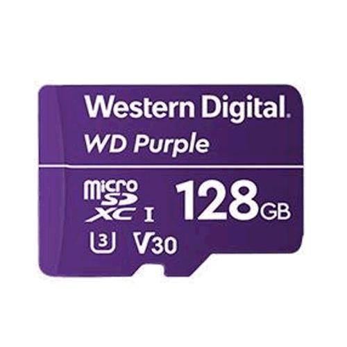 WD Purple microSDXC 128GB 100MB/s U3 WDD128G1P0A