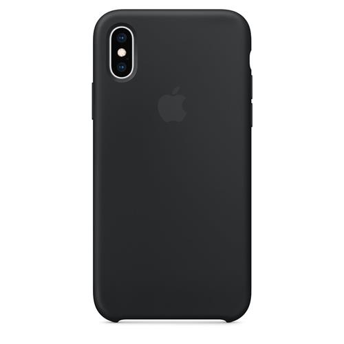 iPhone XS Silicone Case - Black MRW72ZM/A