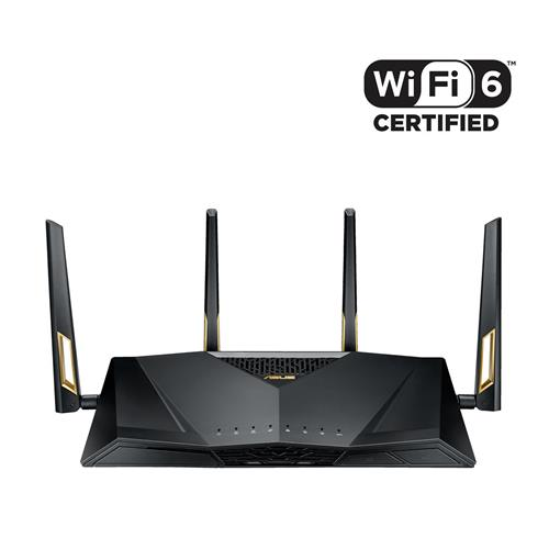 ASUS RT AX88U   Wireless AX6000 Dual Band Gigabit Router 90IG04F0 MN3G00