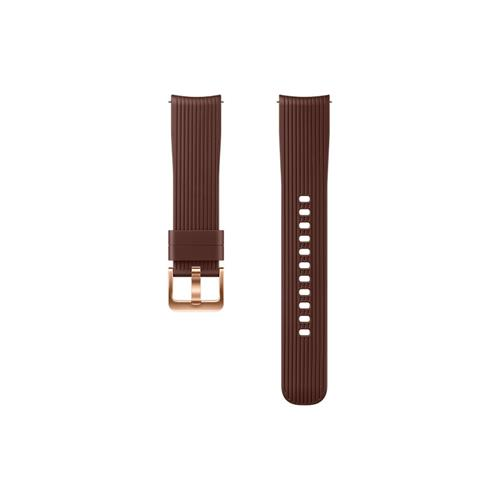 888d4fcbf Samsung Silikonový remienok Galaxy Watch 20mm Brown ET-YSU81MAEGWW