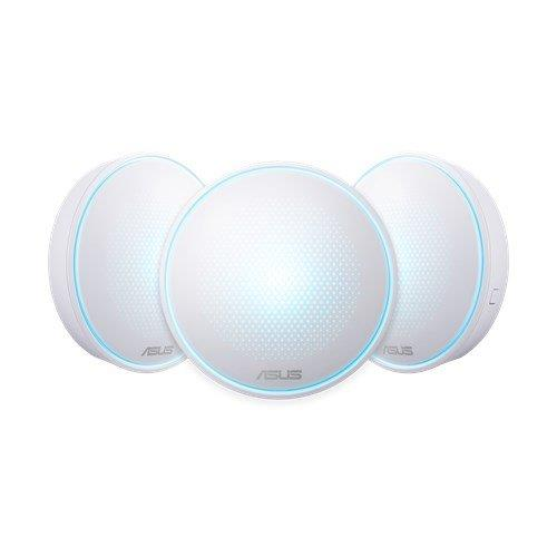 ASUS Lyra (MAP-AC2200) Complete Home Wi-Fi Mesh System Wireless-AC2200 Tri-band 90IG04C0-BN0B10