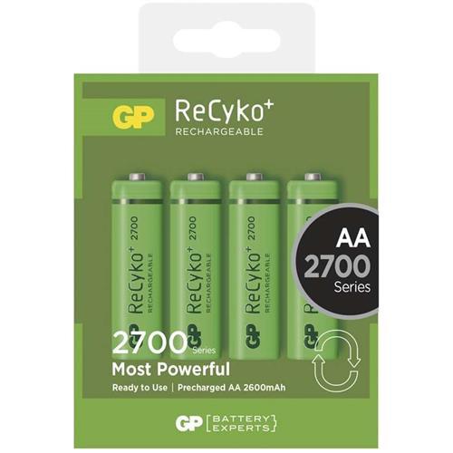Nabíjacie batérie GP AA 2700 NiMH 4ks 1032214130