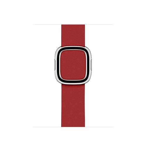 Apple Watch 40mm Band: (PRODUCT)RED Modern Buckle Band - Medium mtqu2zm/a