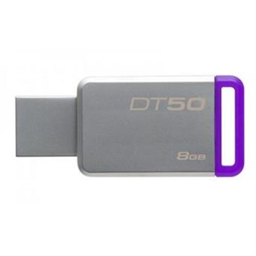 USB Kľúč 8GB Kingston USB 3.0 DT50 kovová fialová DT50/8GB