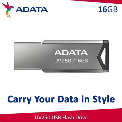 USB Kľúč 16GB ADATA UV250 USB 2.0 black AUV250-16G-RBK