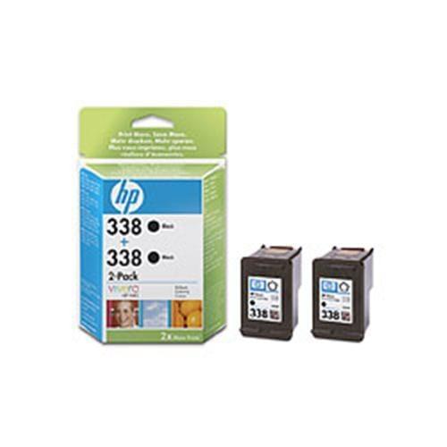 Kazeta HP HPCB331EE BLACK No. 338 dvojité balení C8765EE