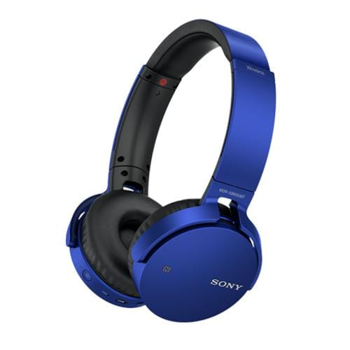 Slúchadlá Sony MDR-XB650BT bezdr.handsfr, modré MDRXB650BTL.CE7