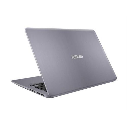 "ASUS VivoBook S410UA-EB093T Intel i5-8250U 14.0"" FHD matny UMA 8GB 256GB SSD WL Cam FPR Win10 CS šedý"