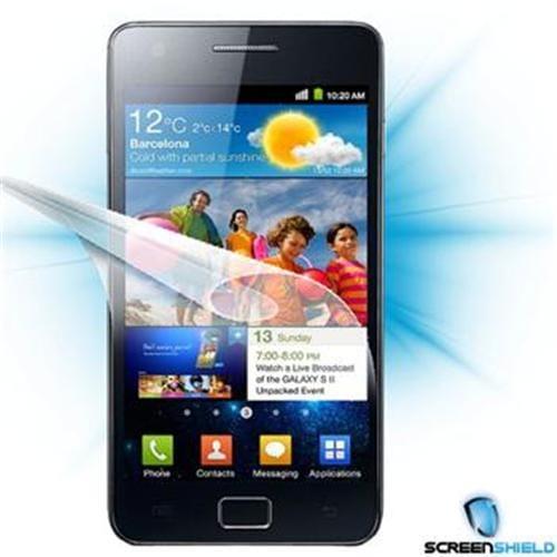 Screenshield fólia na displej pre Samsung Galaxy S II (i9100) SAM-GSII-D