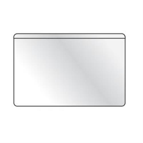 Samolepiace vrecko vizitkové s otvorom zhora DURABLE 94x61mm 100ks DU829319