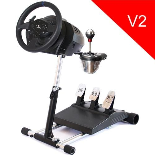 Wheel Stand Pro DELUXE V2, stojan na volant a pedále pre Thrustmaster T150, T300 a TX, T500, Logitech G29 T300/TX
