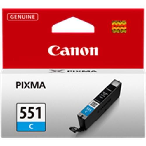 Kazeta CANON CLI-551C cyan MG 5450/6350, iP 7250 6509B001