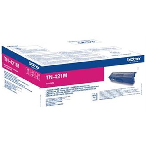 toner BROTHER TN-421 Magenta HL-L8260CDW/L8360CDW, DCP-L8410CDW, MFC-L8690CDW/L8900CDW TN421M