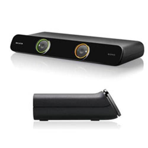 Belkin 2-portový OmniView SOHO KVM Switch, VGA & USB + káble F1DS102Lea
