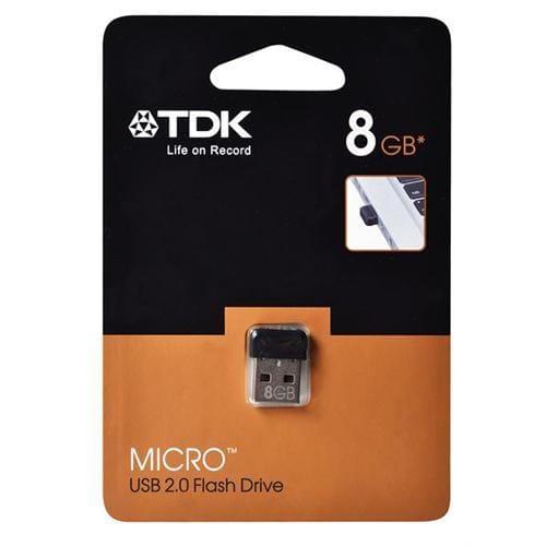 USB Kľúč 8GB TDK Micro, čierny.