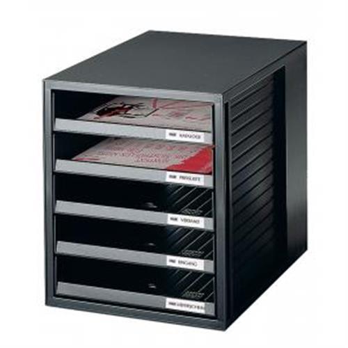 Zásuvkový box Cabinet čierny HA140113