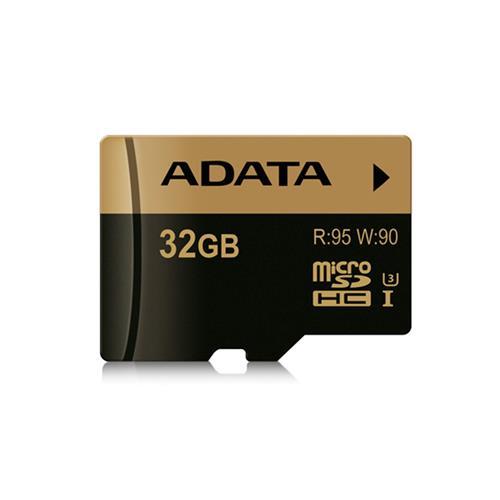 ADATA 32GB microSDHC XPG UHS-I U3 (R: 95MB / W: 90MB) AUSDH32GXUI3-R