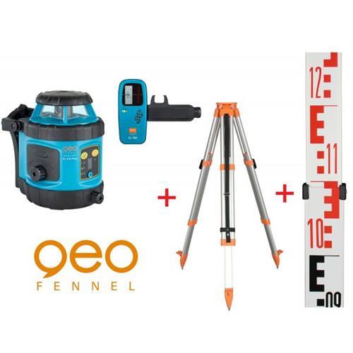 Geo Fennel Rotačný laser EL515 PLUS + statív a lata PKOD-8004