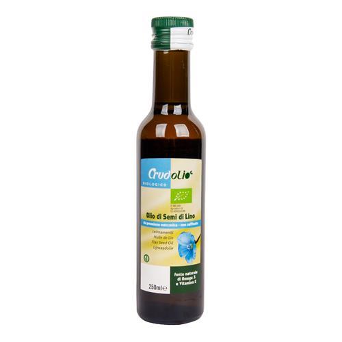 Olej ľanový 250 ml BIO CRUDOLIO 430052