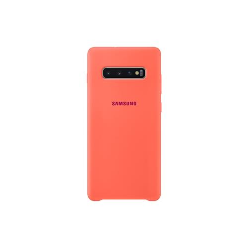 Samsung Silicone Cover S10+ Berry Pink EF-PG975THEGWW
