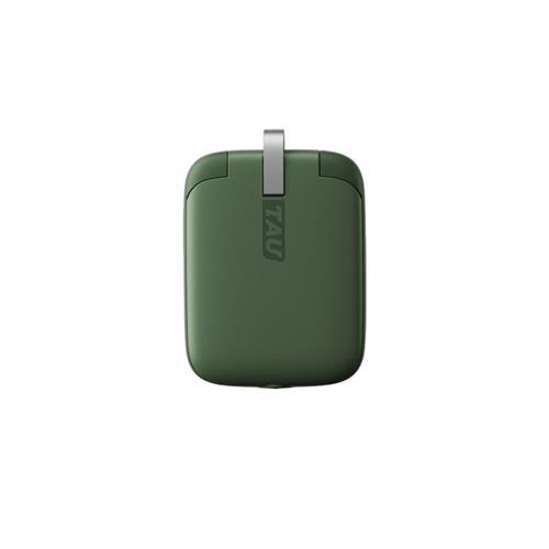 Rolling Square TAU – Mini Powerbank 3in1, 1400 mAh, Green RS-TAU03R