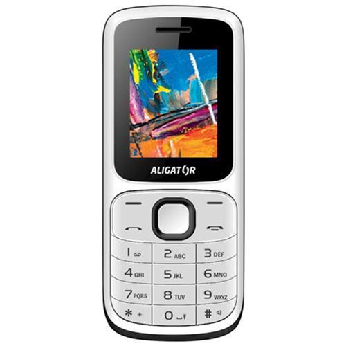 ALIGATOR D210 Dual sim bielo-čierny AD210WB