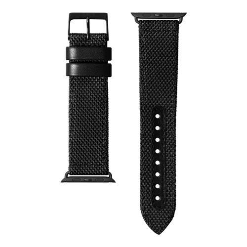 LAUT Technical 2.0 – nylónový remienok na Apple Watch 42/44 mm, čierny LAUT-AWL-T2-BK
