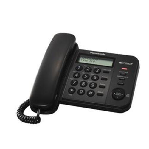 Panasonic KX-TS560FXB jednolinkovy telefon / cierny