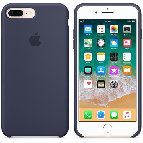 Apple iPhone 8 Plus / 7 Plus Silicone Case - Midnight Blue MQGY2ZM/A