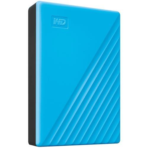 Ext. HDD 2,5'' WD My Passport 4TB USB 3.0. modrý WDBPKJ0040BBL-WESN