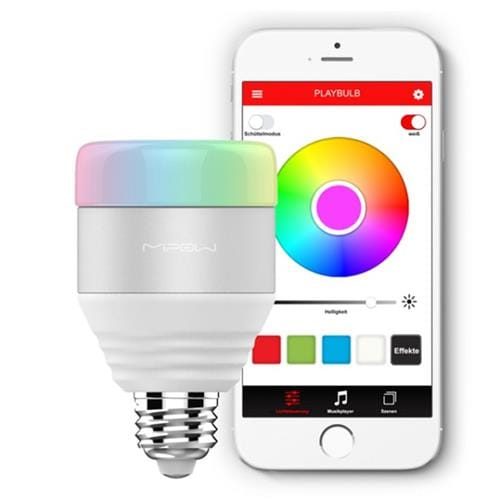MiPow Playbulb Smart LED BT žiarovka - biela MP-BTL201-WT