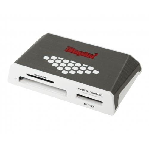 Čítačka kariet Kingston USB 3.0 SuperSpeed All-in-One Media Card Reader Gen 4 FCR-HS4