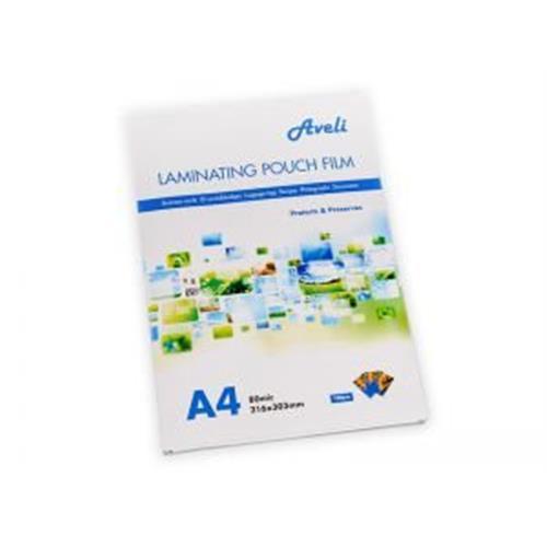 Laminovacia fólia AVELI A4/160mic (2x80), lesklá XRT-00027