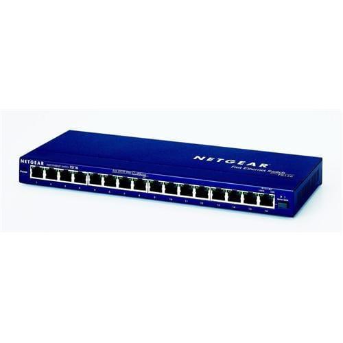NETGEAR 16x10/100 Desktop switch, FS116GE