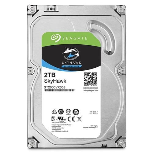 Pevný Disk Seagate SkyHawk 2TB, 64MB, SATAIII, 7200rpm, 3RZ ST2000VX008